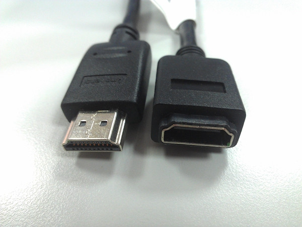 HDMI A Plug to A Receptacle